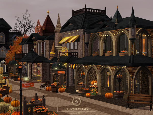 Halloween Park by Aquarhiene