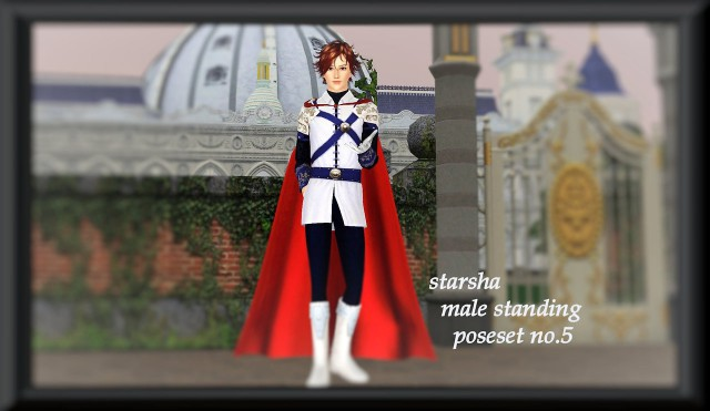 Male standing poseset no.5 by starsha-sims