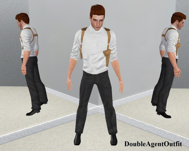 AM Double Agent Outfit by VenusPrincess