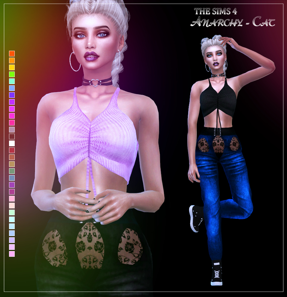 MFS Havana Top & Jeans by Anarchy-Cat