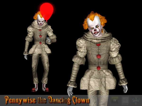 Pennywise the Dancing Clown Dress by Shushilda