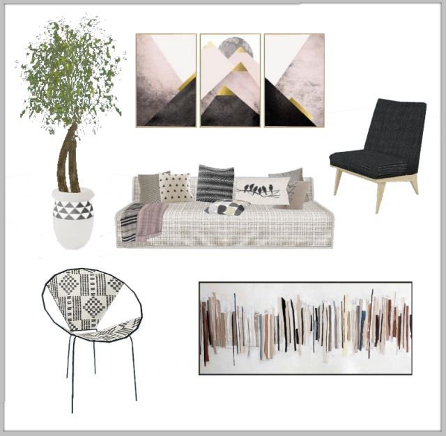 Scandi Crush living room by Chicklet