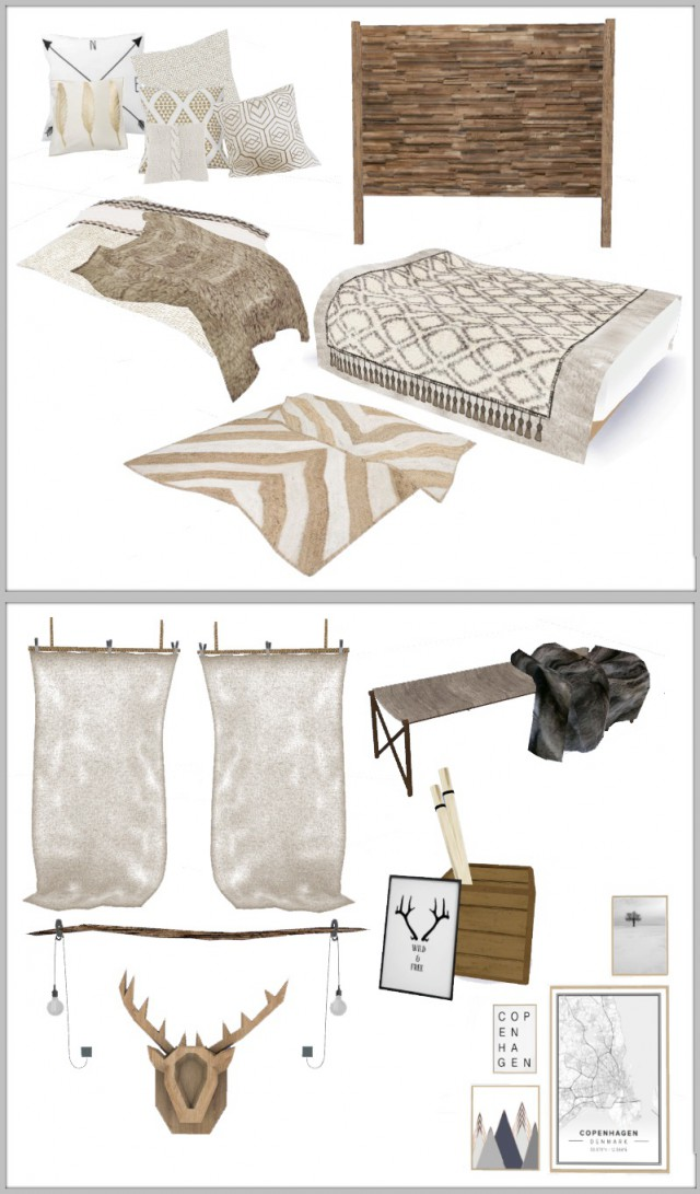 Scandi Crush bedroom by Chicklet