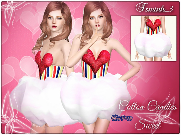 Cotton Candies Sweet Custome by TsminhSims