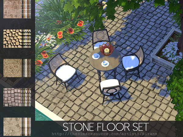 Stone Floor Set by Rirann