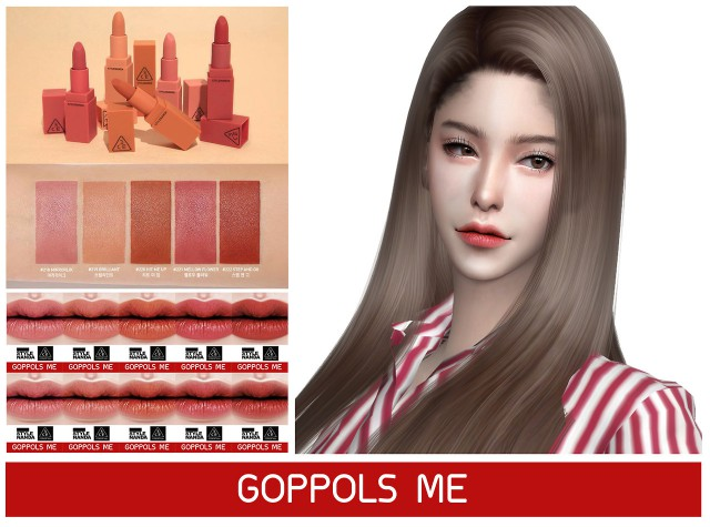 3CE MOOD RECIPE MATTE LIP COLOR by GoppolsMe