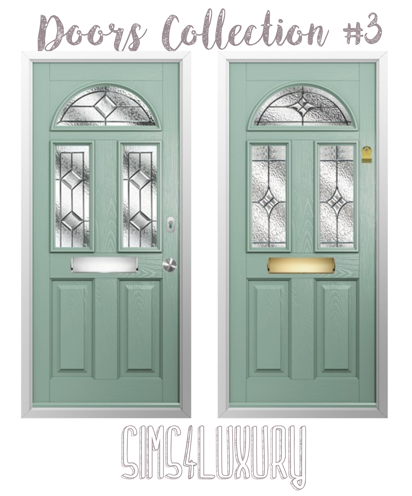 Door Collection 3 by Sims4Luxury