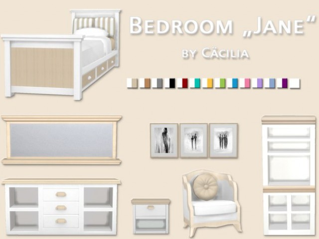"Bedroom ""Jane"" by Ccilia"