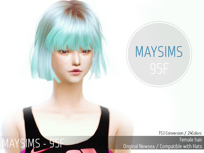 Hair095F by MaySims