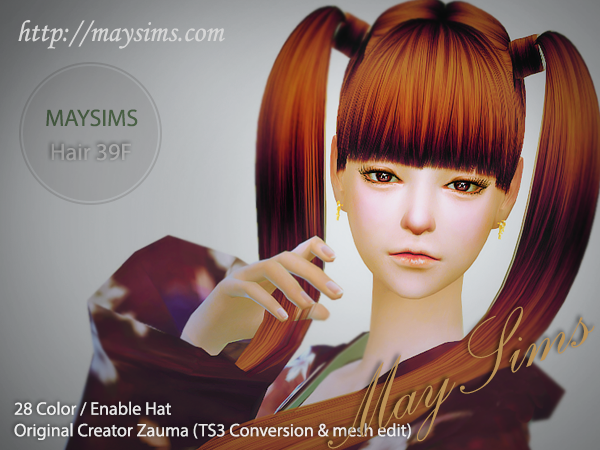 Hair39F by MaySims
