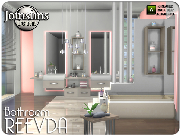 Reevda bathroom by jomsims