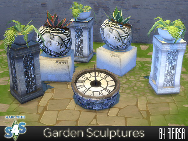 Garden Sculptures by Aifirsa