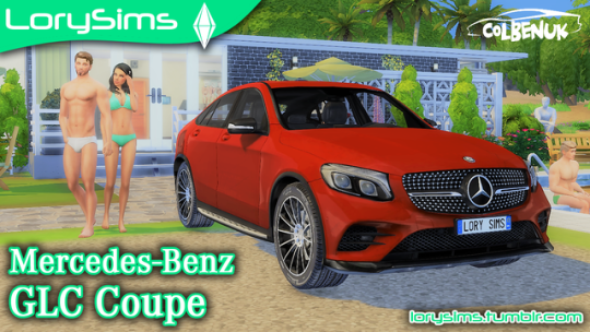 Mercedes-Benz GLC Coupe by LorySims