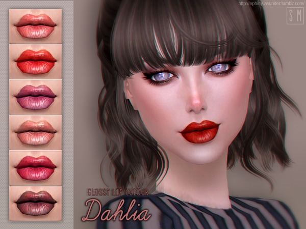 [ Dahlia ] - Glossy Lip Colour by Screaming Mustard