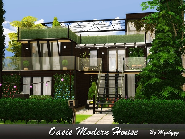 Oasis Modern House by MychQQQ