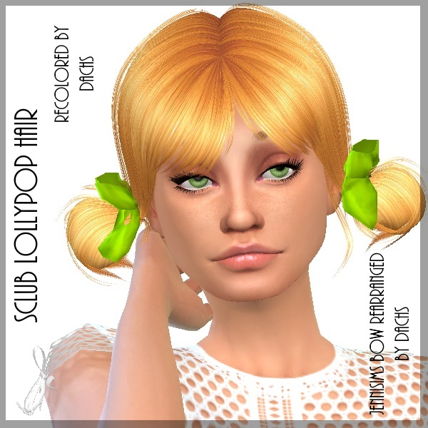 Sclub Lollypop Hair and Jennisims Bow Redo by Dachs