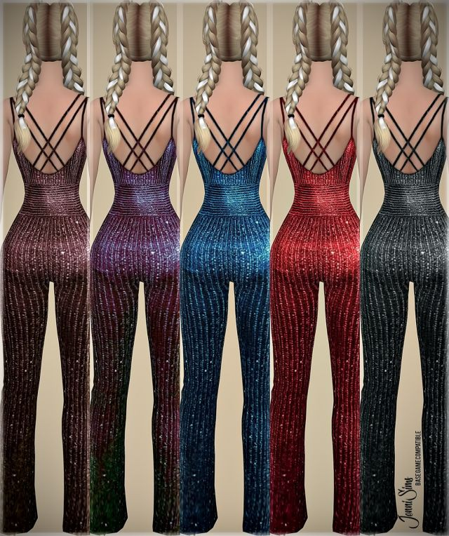 Base Game compatible Bodysuits DynamicClothing by JenniSims