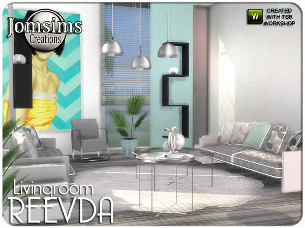 Reevda living room by jomsims