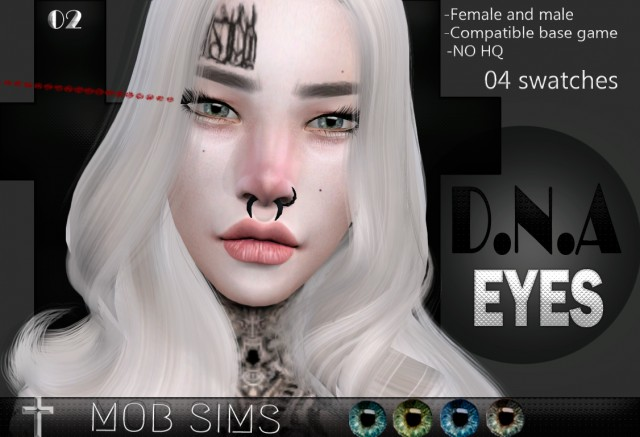 DNA EYES by Mobsims