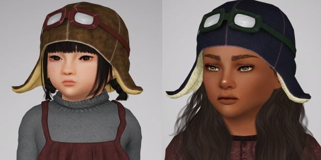 Pilot hat for kids and toddlers by sketchbookpixels