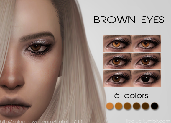 Brown eyes by Lipaluci