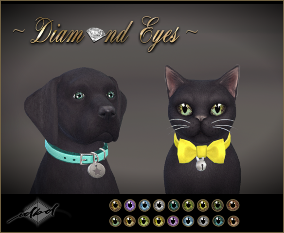 Diamond Eyes (For Pets) by Daer0n