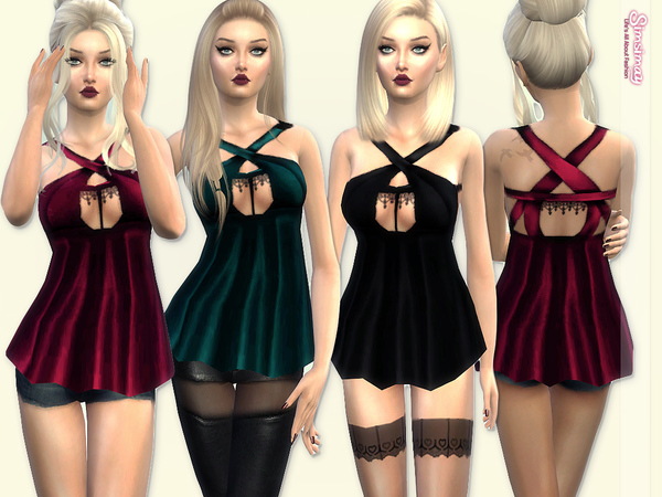 Baby-doll Top/Lingerie by Simsimay