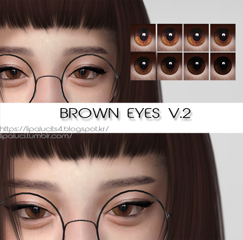 brown eyes V.2 by lipaluci