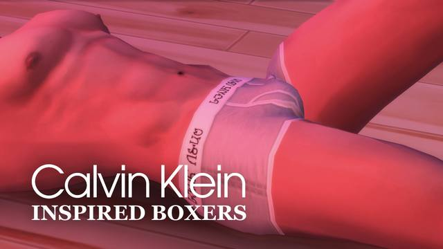 Calvin Klein Inspired Boxers - Male by littledica