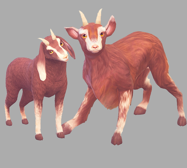 GOATS HOOVES AND HORNS by kismetsims