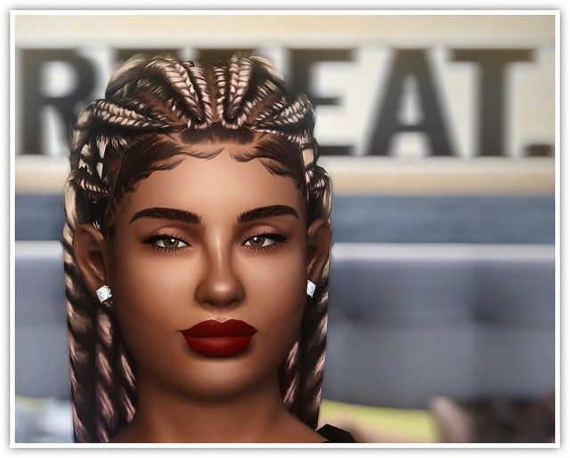 Sims 4 EA Parenthood hair converted to TS3 for adults by Applekissims