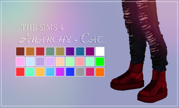 Madlen Spinoza Shoes (MALE) by Anarchy-Cat