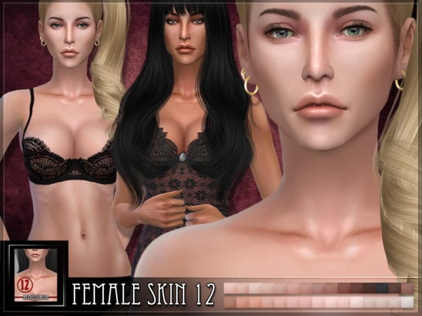Female skin 12 by RemusSirion