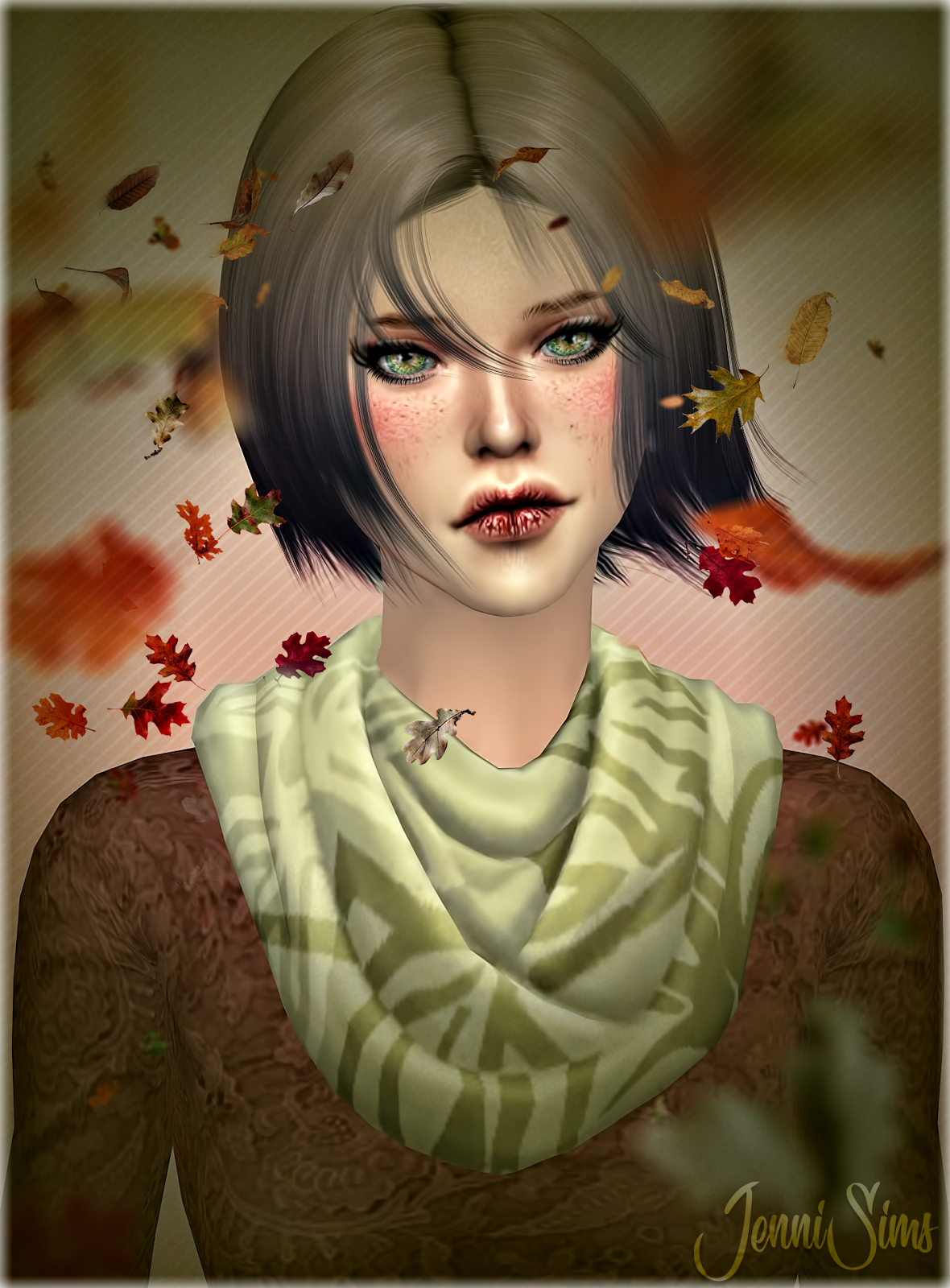 Game compatible Accessory Scarves by JenniSims