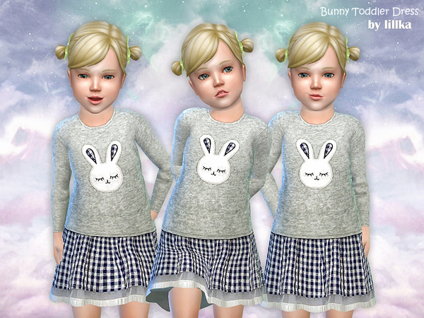 Bunny Toddler Dress by lillka