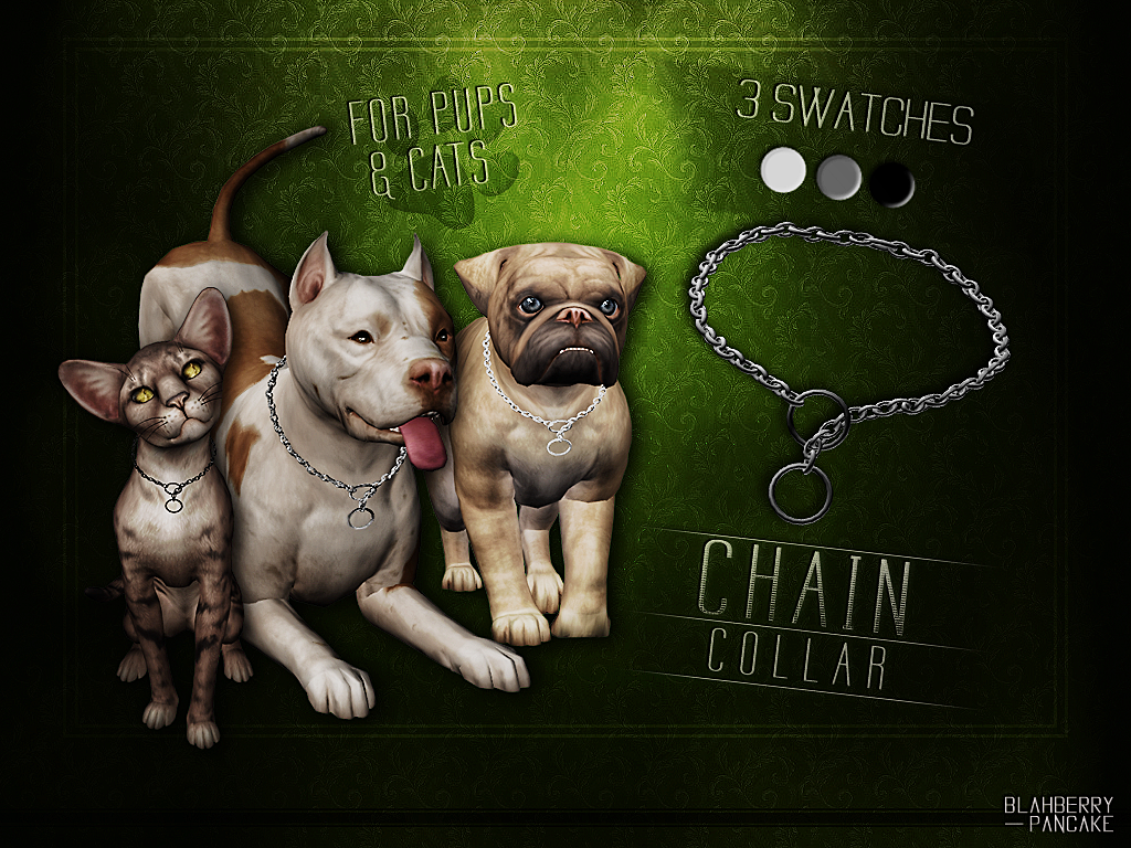 Chain Collar by Blahberry Pancake