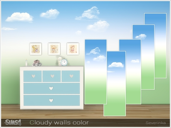 Cloudy walls color by Severinka