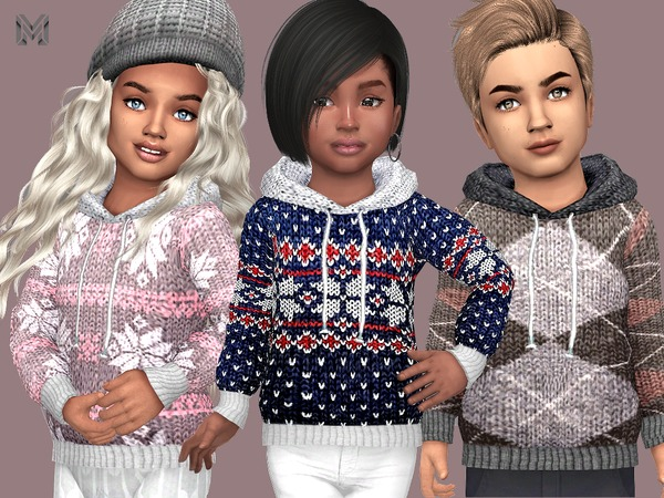 MP Wool Winter Sweaters (Toddler) by MartyP