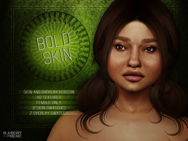 Bold Skin & Overlay by Blahberry Pancake