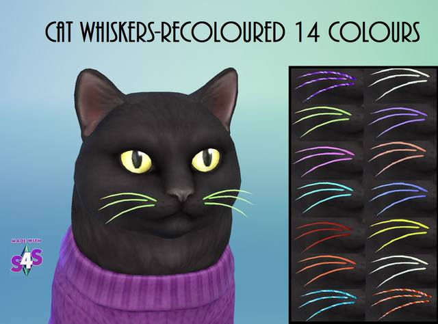 Ep04-Cat Whiskers-14 Colours by wendy35pearly