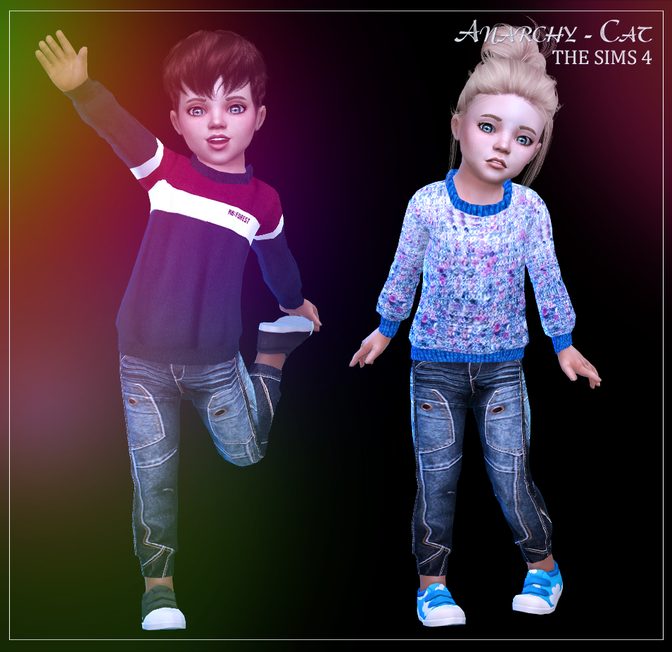 Clothing for toddler #1 by Anarchy-Cat