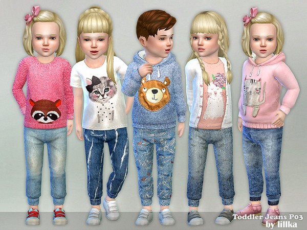 Toddler Jeans P03 by lillka