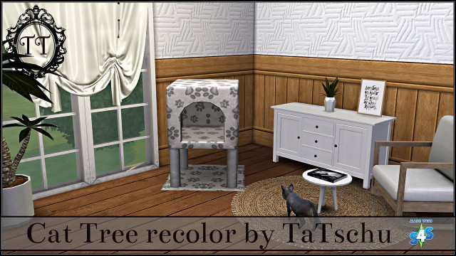 Maxis Mesh Cat Tree recolor by TaTschu