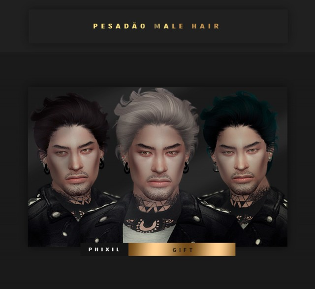Pesadao Hair AM by PHIXIL