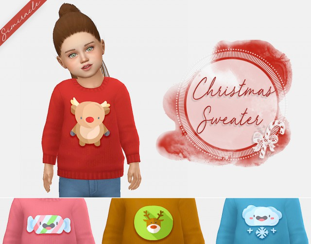 toddler christmas sweaters by simiracle