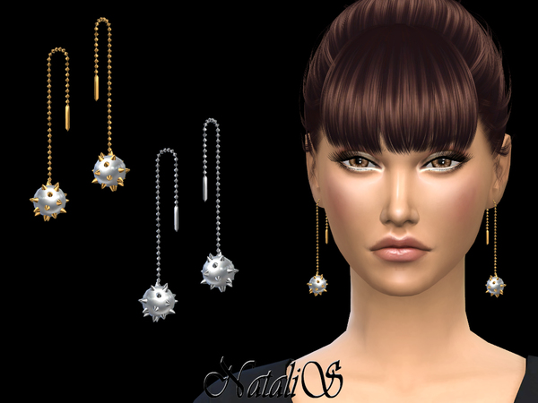 NataliS_Spiked Drop Pearl Earrings-2