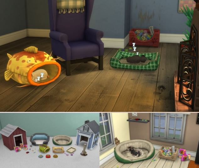 Ts3 Cats & Dogs Stuff by EnureSims