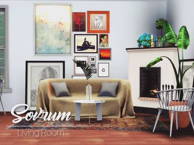 Sovrum Living Room by Pyszny16
