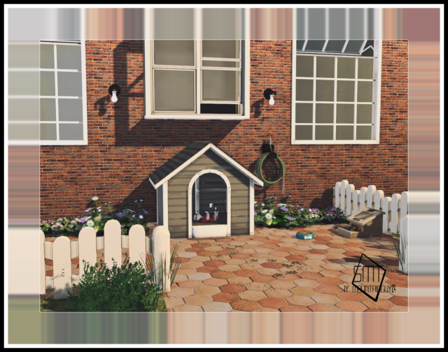 HAGGYS FUNCTIONAL DOG HOUSE RETEXTURE 2T4 By MG24 & Daer0n