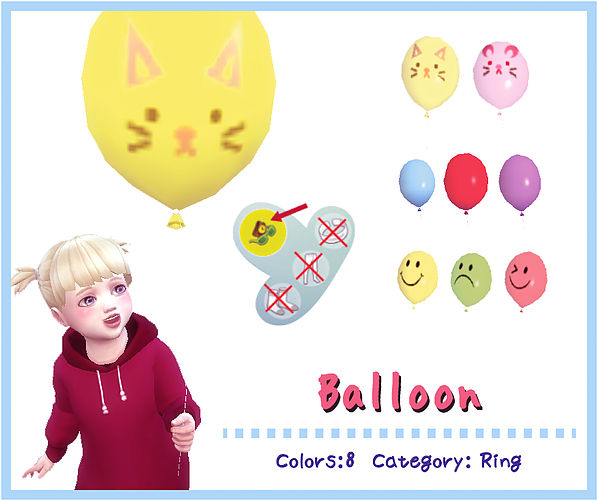 ACC Balloon (Toddler) by A-luckyday